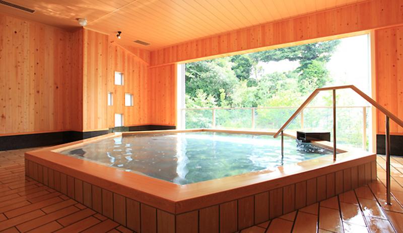 庭園露天風呂「ひとと季の湯」:宿泊者専用