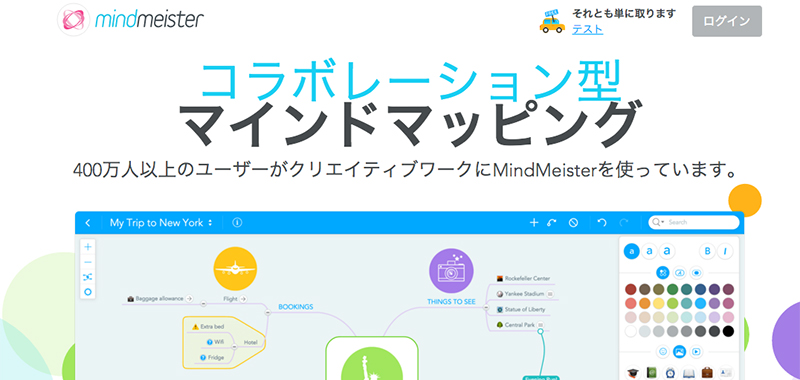 mindmeister (無料プランと有料プラン)