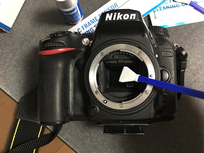 一眼レフカメラの掃除(センサークリーニング)